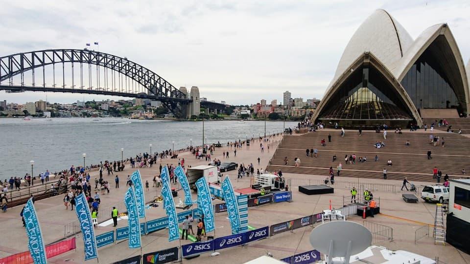 深夜便でゆく、シドニー1泊4日の弾丸マラソン旅行|ともらん
