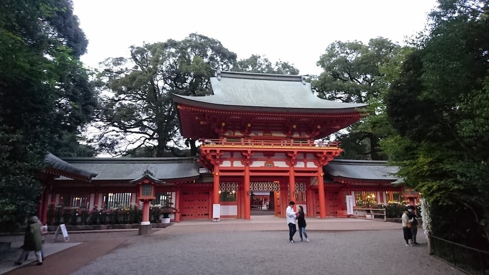 埼玉随一のパワースポット「大宮氷川神社」で参道ラン
