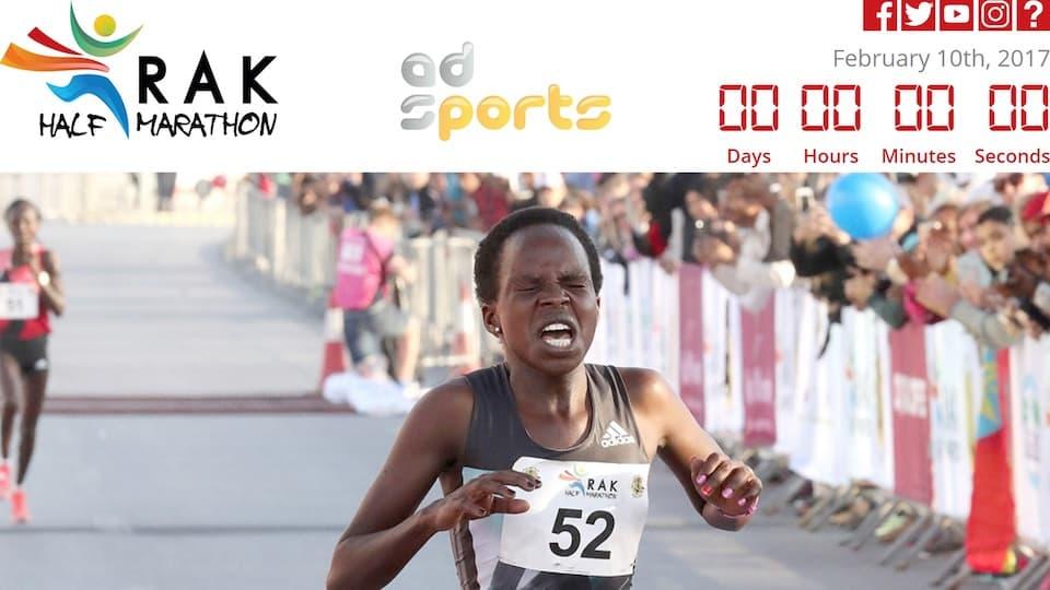 ジェプチルチルが1時間5分6秒で女子ハーフ世界記録更新