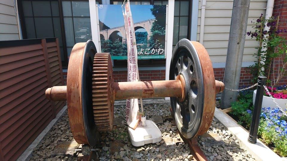 登山電車の車輪