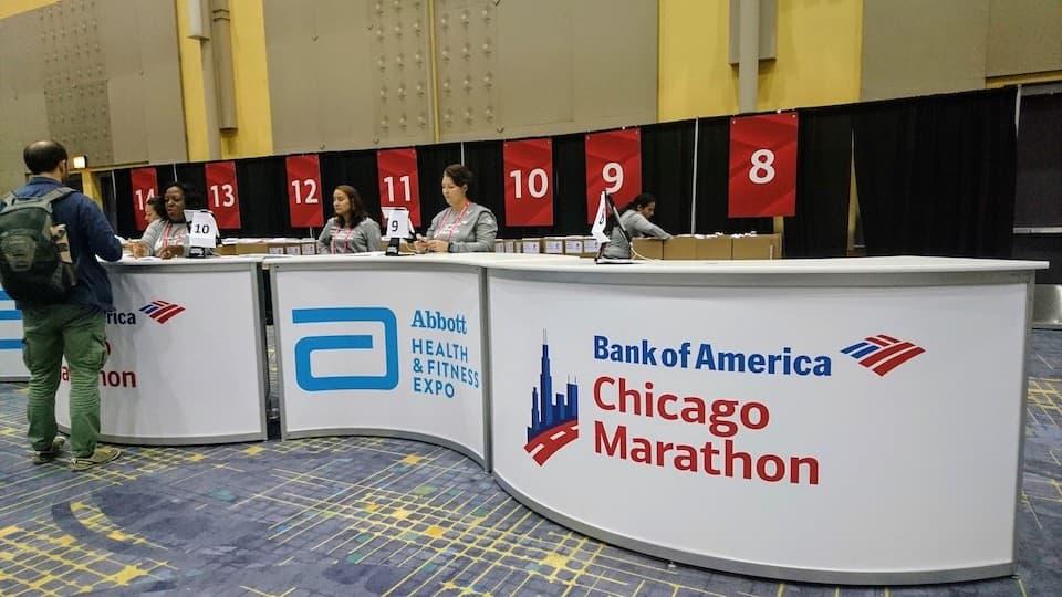 シカゴマラソン【EXPO】受付・もらえるグッズ・出展ブース