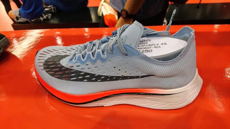 世界6大マラソンで上位3位の選手、半数以上が「Nike Zoom Vaporfly 4%」を使用