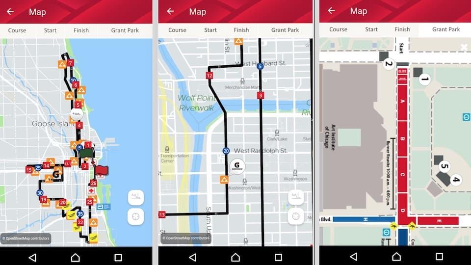 シカゴマラソン【アプリ】レースを120%楽しむための専用アプリが秀逸!