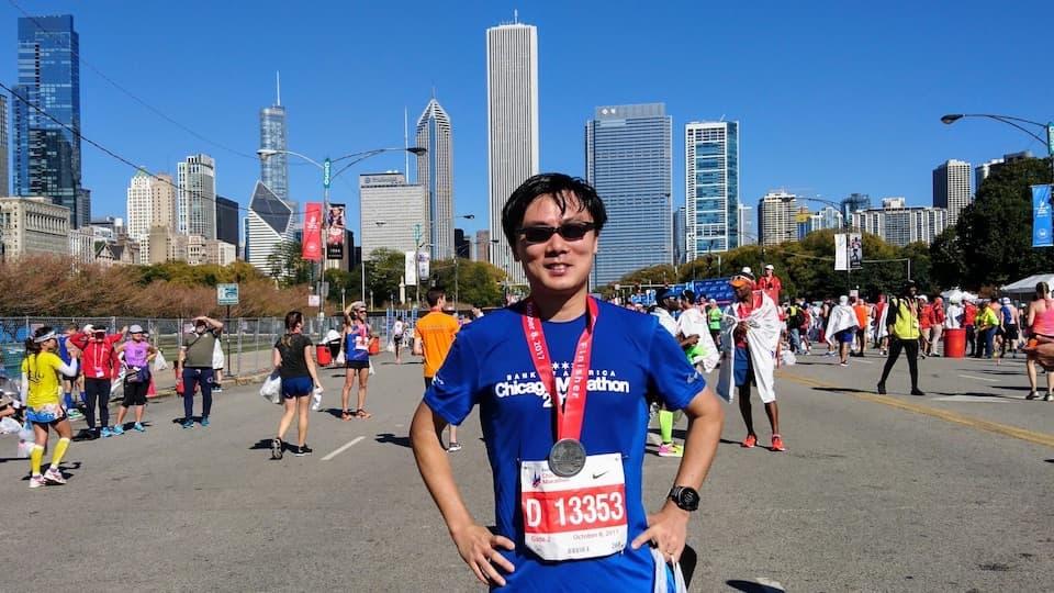 シカゴマラソン【ブログレポート】寒暖の差が激しすぎる
