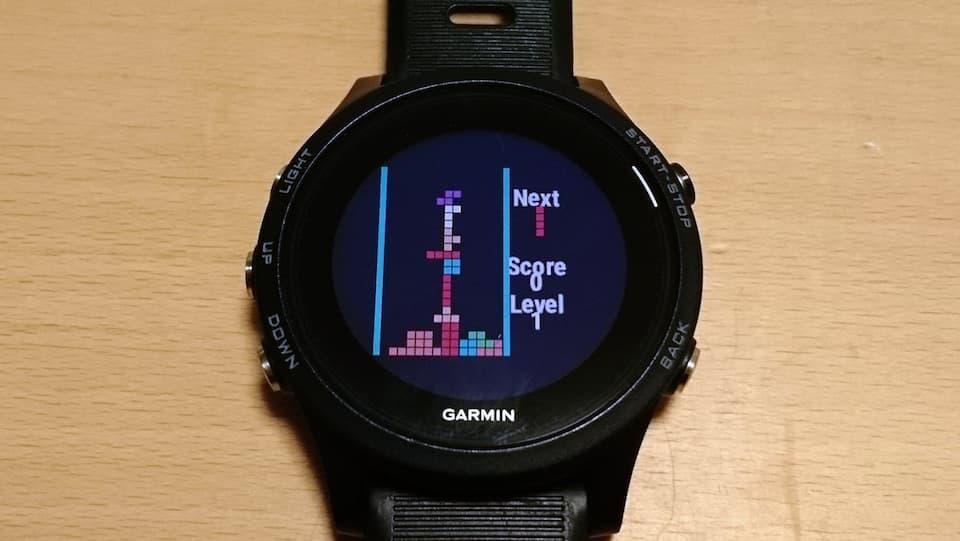 Garmin Connect IQ 開発者アワード 発表。GPSウォッチであの「テトリス」が遊べる!