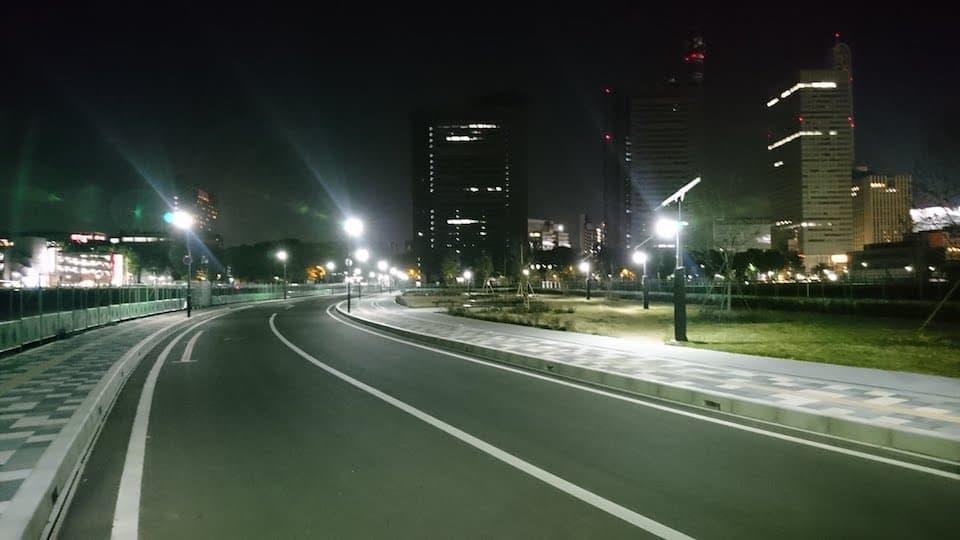 1周1kmコース @さいたま新都心