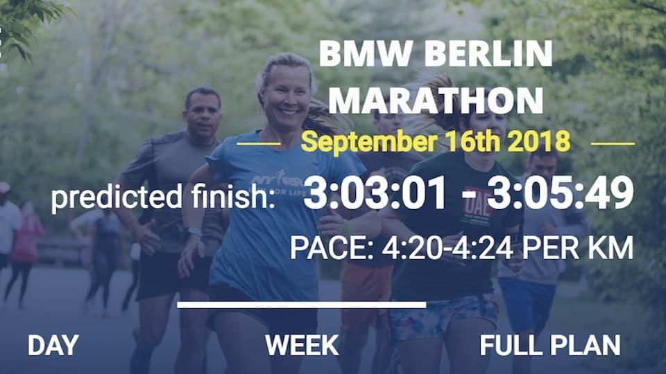フルマラソン「サブ3.1」向けの12週間トレーニングプラン体験記