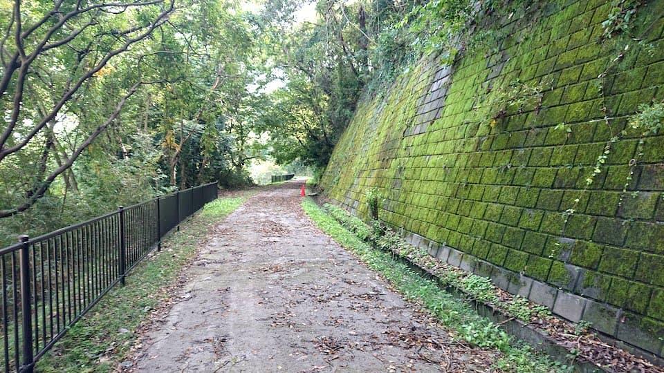 廃線敷遊歩道