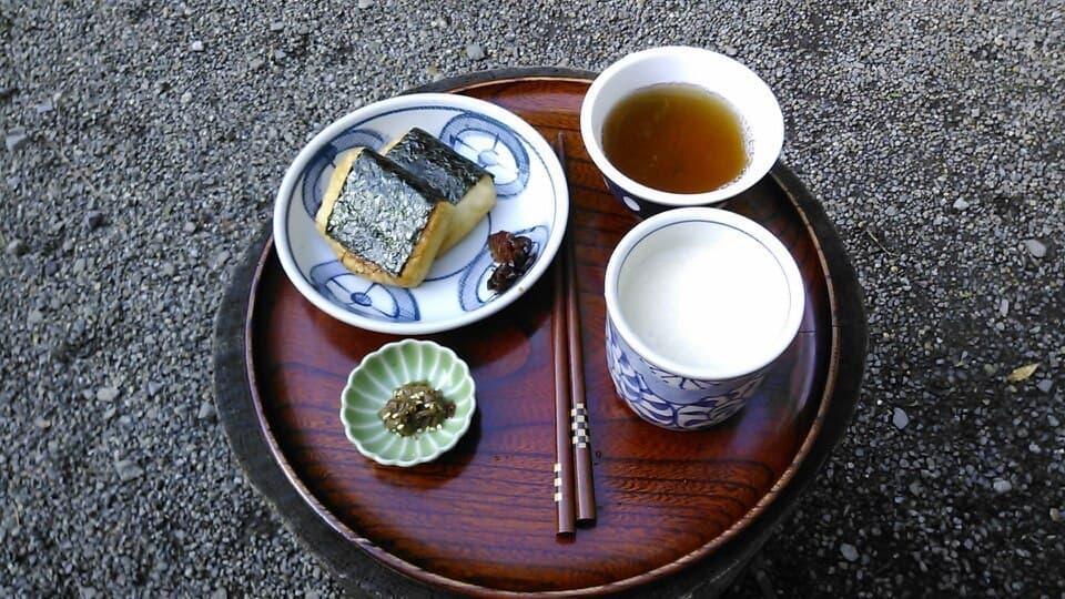 箱根の峠にある「甘酒茶屋」