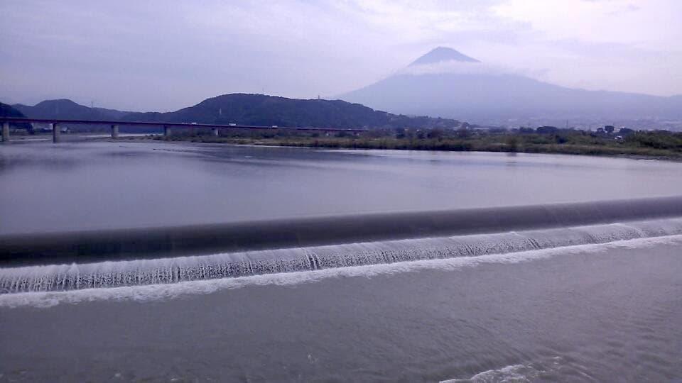 富士山の陰影