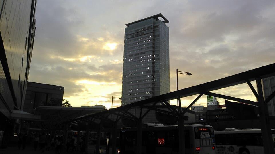 静岡駅前のターミナル