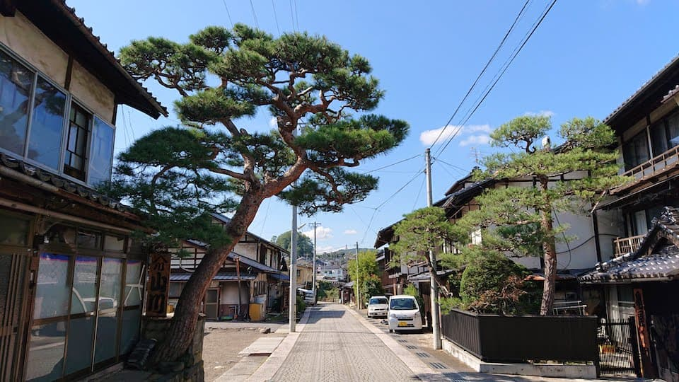 中山道を走る旅:沓掛→追分→小田井→岩村田→塩名田→八幡