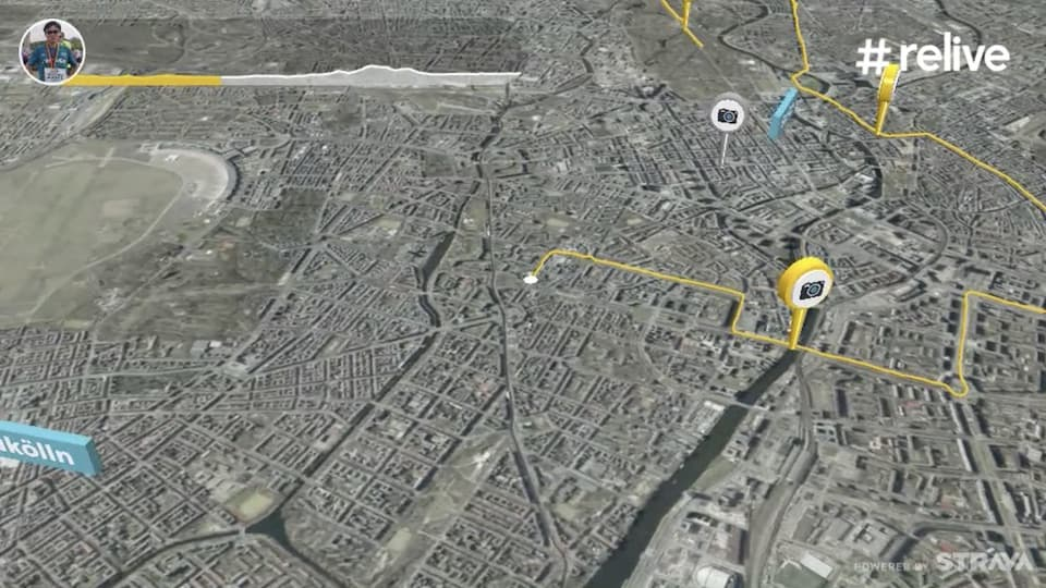 Reliveの使い方。Garminや Stravaのランニングデータが、マラソン実況中継動画に大変身!