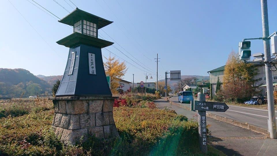 中山道芦田宿