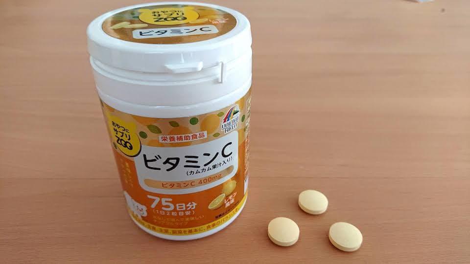 ユニマットリケン おやつサプリZOO ビタミンC 150g