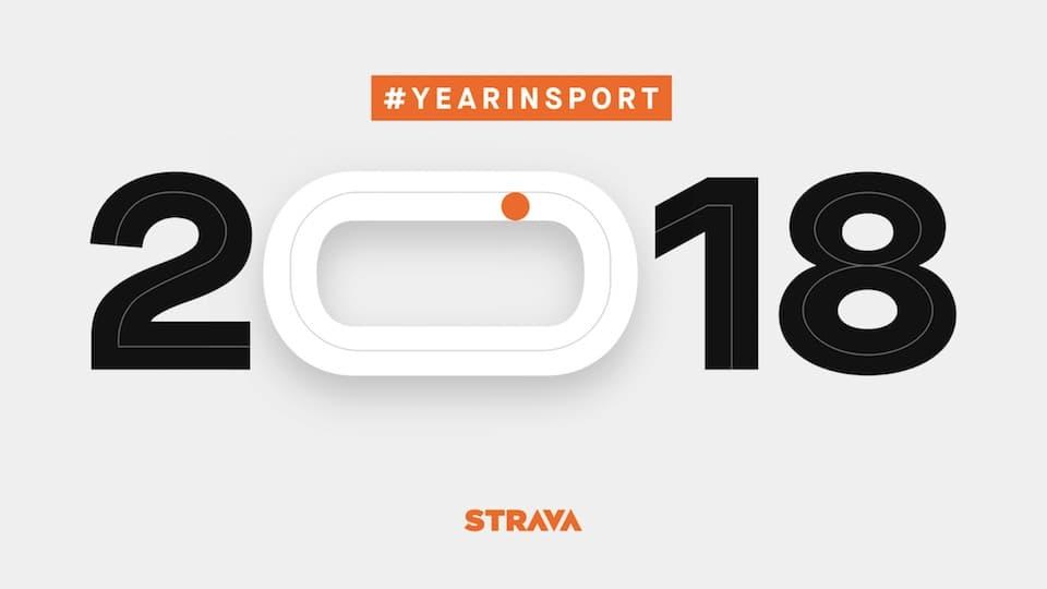 ストラバ(Strava)が2018年の統計データを公開。ユーザ数は3600万人に