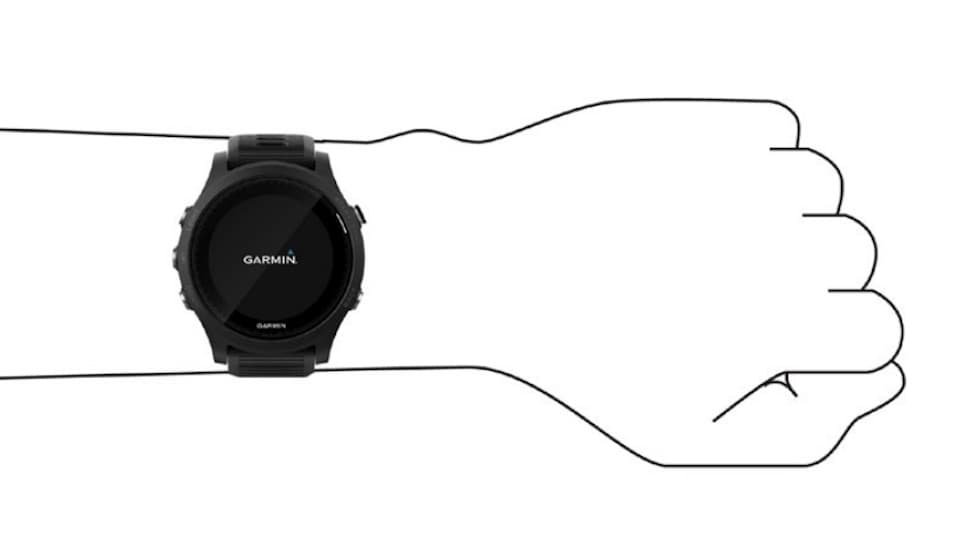 【ガーミン時計】心拍数を正しく計測するための装着方法と注意点