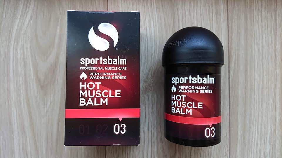 スポーツバルム(sportsbalm)【評価&レビュー】寒さのレベルで選べるホットジェル