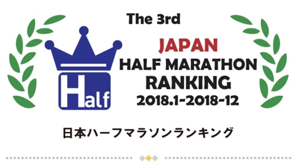 日本ハーフマラソンランキング【2018年】自分の順位と対象大会をチェックする方法