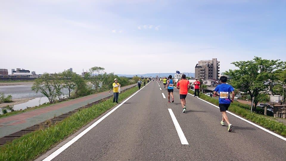 ぎふ清流ハーフマラソン【ブログレポート】Qちゃん監修、世界最高峰のハーフ