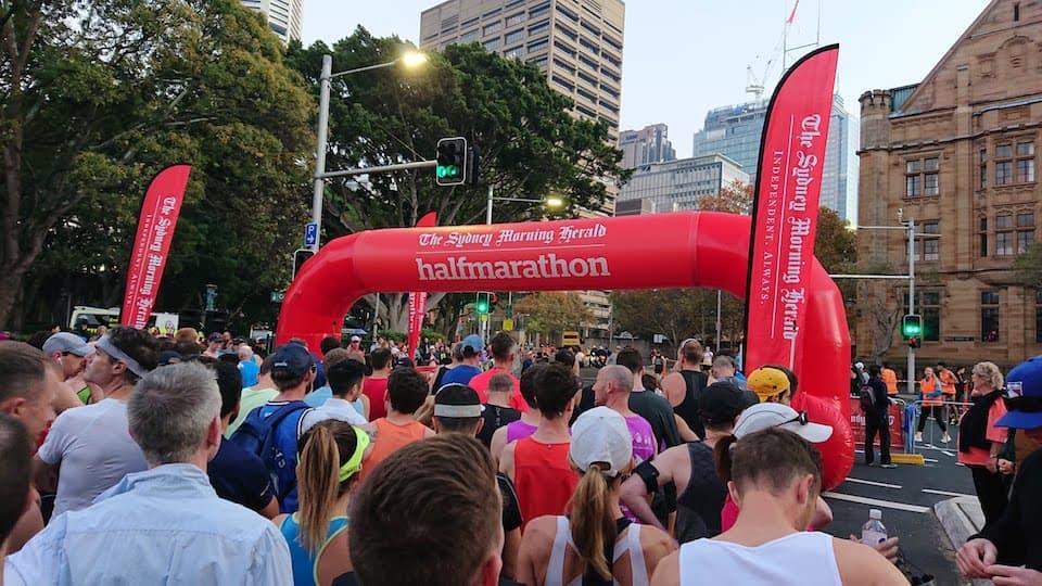 シドニーハーフマラソン【ブログレポート】アップダウンが多過ぎて撃沈!
