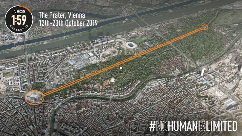 キプチョゲの「サブ2」再挑戦は2019年10月、ウィーンのプラーター公園にて開催