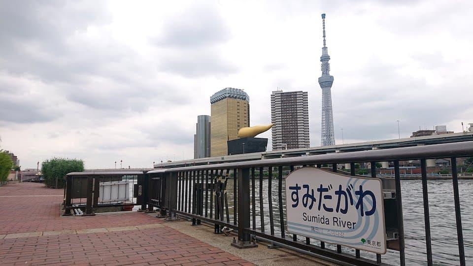 浅草・隅田川でランニングするなら「アシックスコネクション東京」へGO!